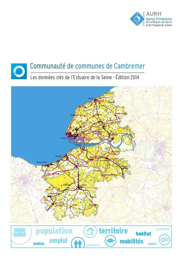 population population population emploi emploi habitat habitat territoire mobilités Communauté de communes de Cambremer Le...