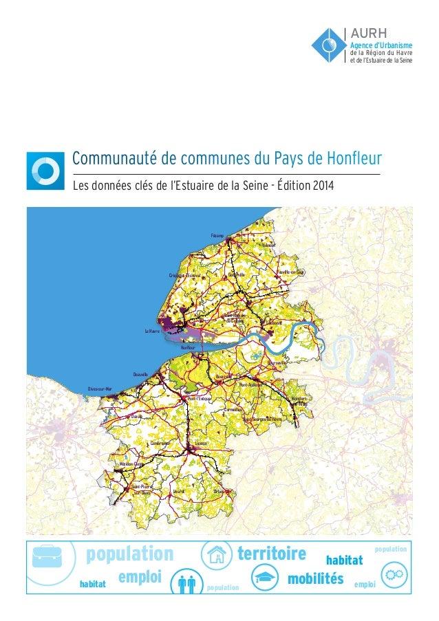 population population population emploi emploi habitat habitat territoire mobilités Communauté de communes du Pays de Honf...