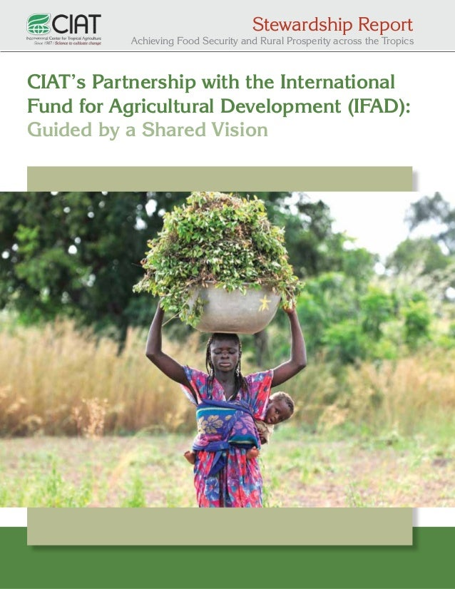 Stewardship Report  Achieving Food Security and Rural Prosperity across the Tropics  CIAT's Partnership with the Internati...