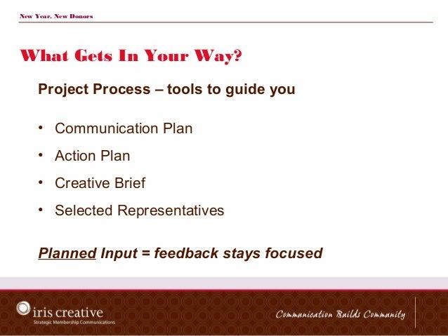 updating project communication plan