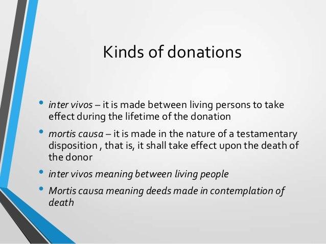 Donor Tax Bintaxa Report