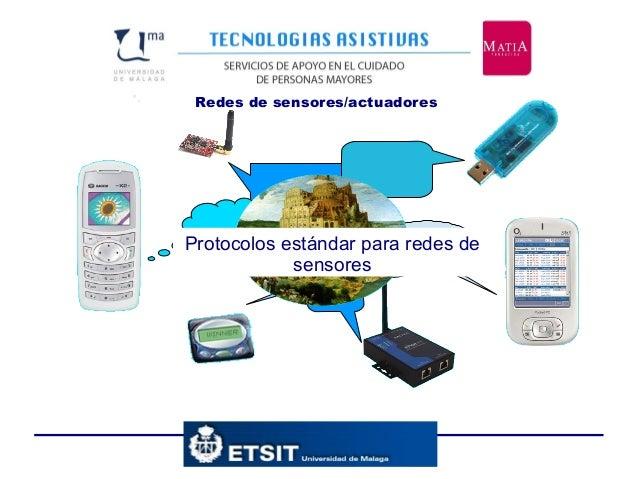 Redes de sensores/actuadores•. Protocolos estándar para redes de sensores