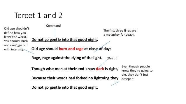 do not go gentle into that good night analysis prezi