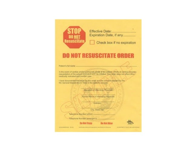 Do Not Resuscitate Orders What They Mean – Do Not Resuscitate Form