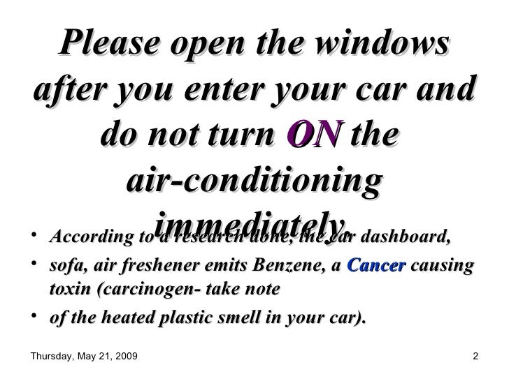 Do Not Turn On Ac Immediately As Soon As You Enter The Car