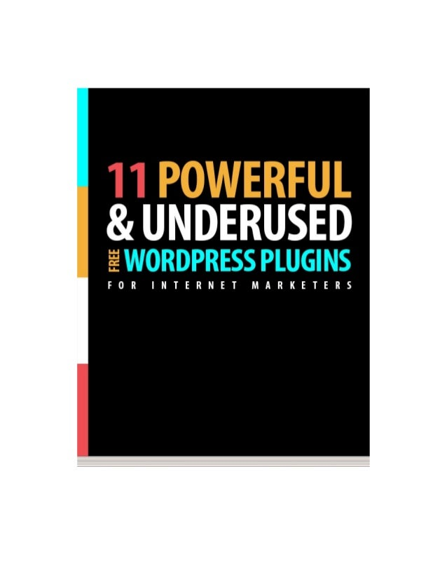 Want to get more out of your WordPress site? Here's the most noteworthy WordPress plugins we've come across and use in 201...