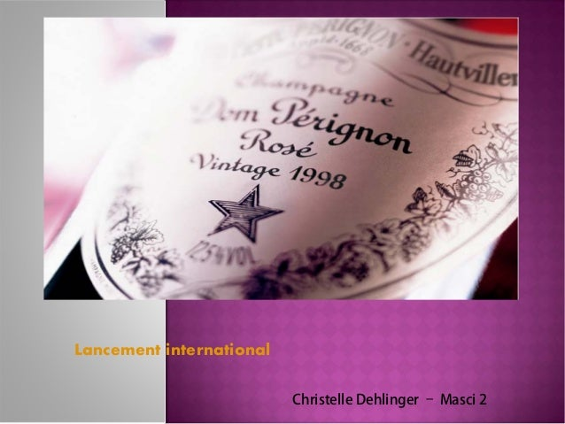 Lancement international                          Christelle Dehlinger – Masci 2