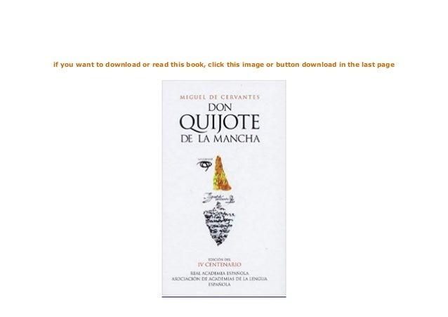 hardcover$@@ Don Quijote de la Mancha Edicion del IV