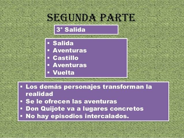 Donquijote De La Mancha Estructura Y Otros