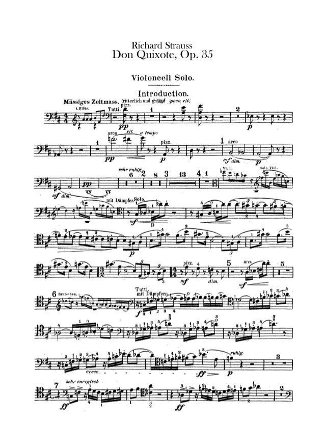 Don quixote - strauss