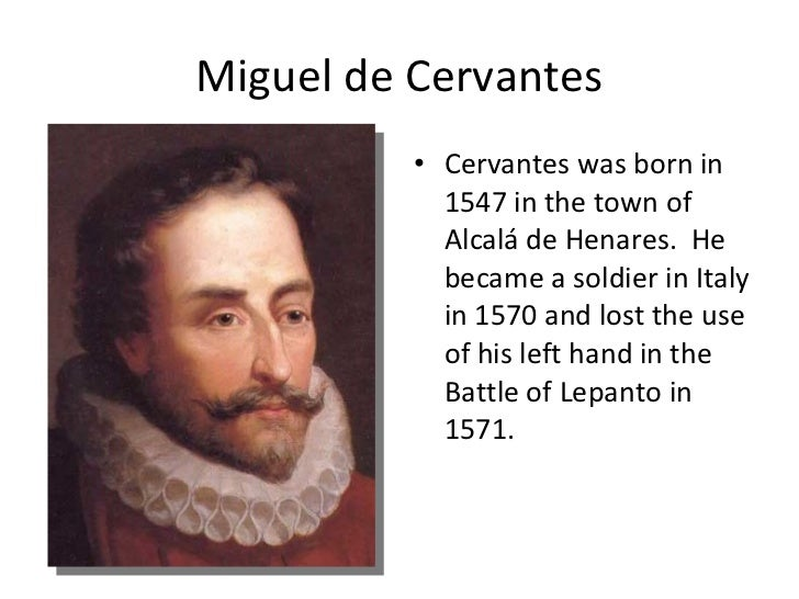 "an essay on the life of miguel de cervantes ""when life itself seems lunatic, who knows where madness lies perhaps to be  too practical is madness to surrender dreams — this may be madness."