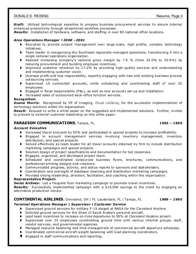 Dobras donald resume