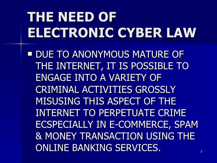 E-Commerce transactions and cyber crime