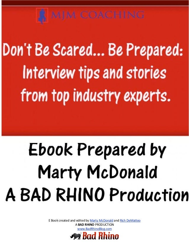 0                                           E Book created and edited by Marty McDonald and Rich DeMatteo                 ...