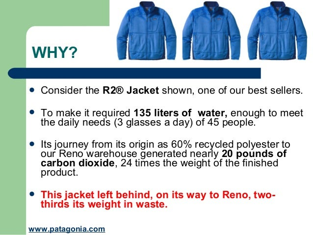 2015905e1 Don't buy this jacket. Patagonia's campaign