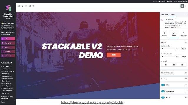 @jeckman https://demo.wpstackable.com/v2/bold/