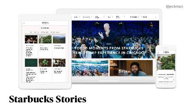 Starbucks Stories @jeckman