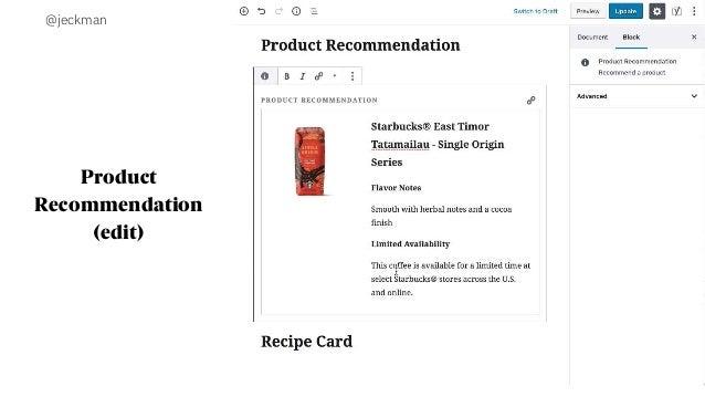@jeckman Product Recommendation (edit)