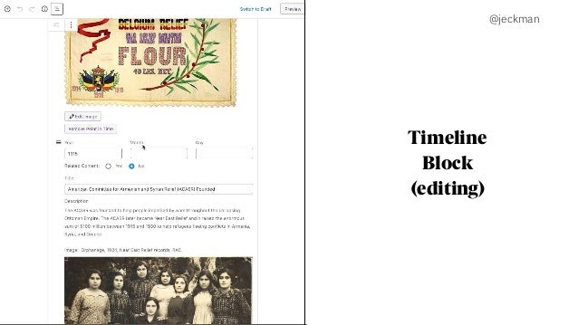 @jeckman Timeline Block (editing)