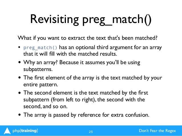 php preg_match