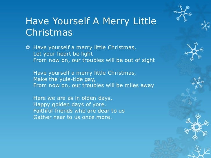 Let sing merry christmas lyrics