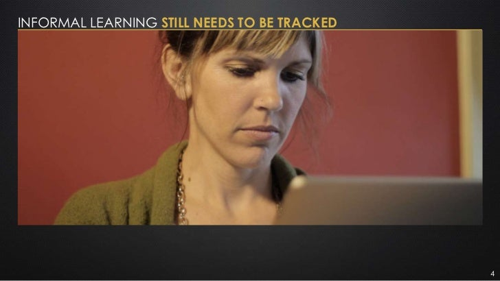 INFORMAL LEARNING STILL NEEDS TO BE TRACKED                                              4