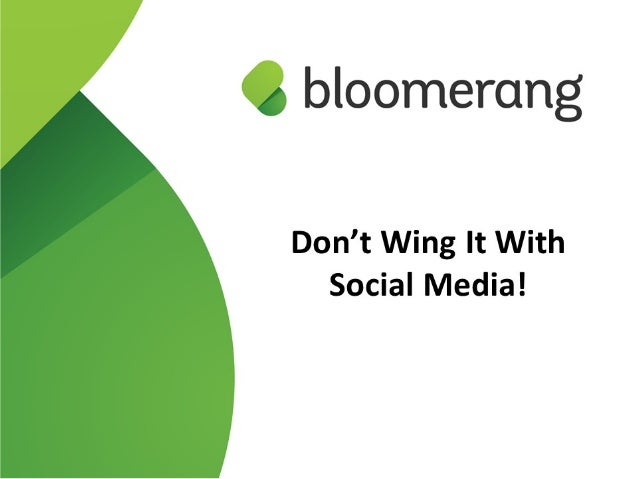 Don't Wing it with Social Media – Stop Being a Silly Goose Do you even have a social media strategy? Do you have one, but ...