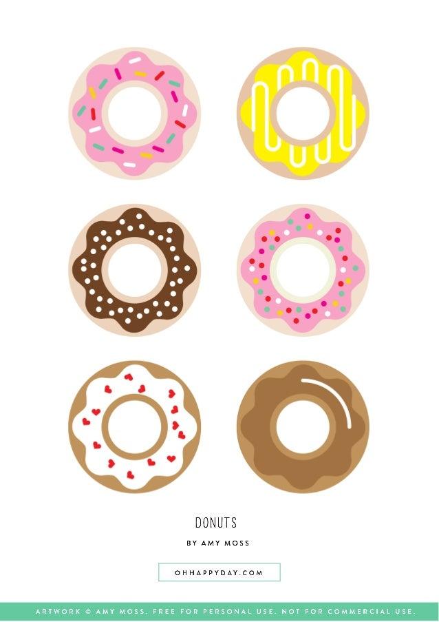 Donut Para imprimir