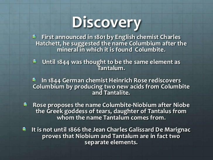 Niobium Don Willmoth