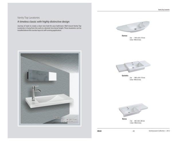 vanity lavatories dooa sanitaryware vanities faucets showers designer wash ba