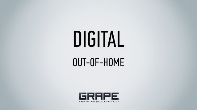 DIGITALOUT-OF-HOME