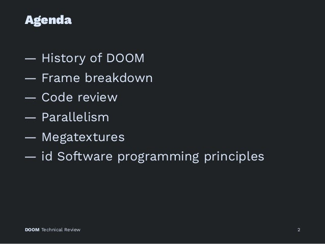 Doom Technical Review