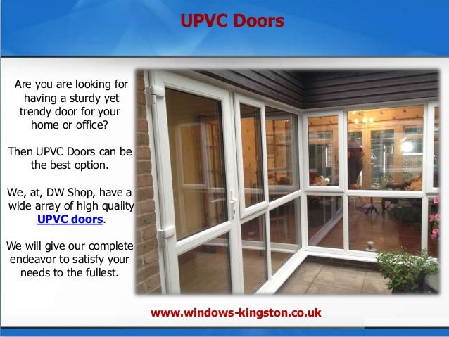 The dw shop for installing upvc windows and doors for Window and door store