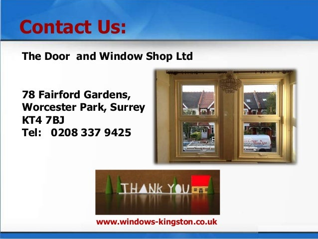 5. The Door ...  sc 1 st  SlideShare & The DW Shop For Installing UPVC Windows and Doors pezcame.com