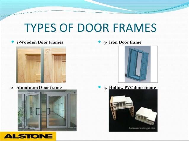 3 types of door frames - Door Frames