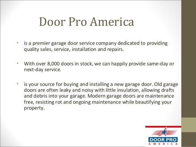 Beau Door Pro America U2022 Is A Premier Garage Door Service Company Dedicated To  Providing Quality Sales ...