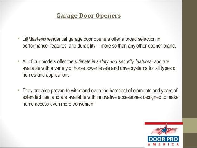 3. Garage Door ...