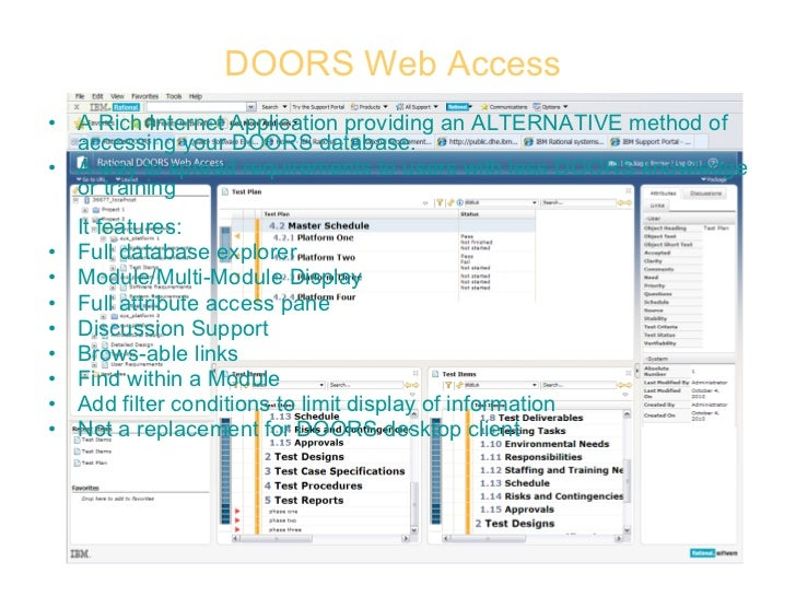DOORS ...  sc 1 st  SlideShare & Dynamic Object-Oriented Requirements System (DOORS) pezcame.com