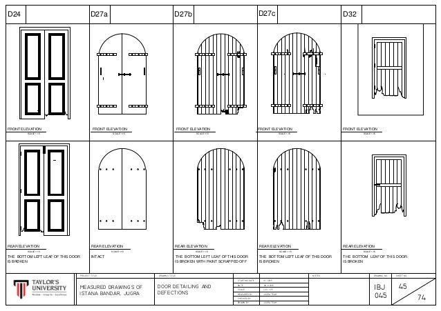 Istana Bandar Jugrah Door Details