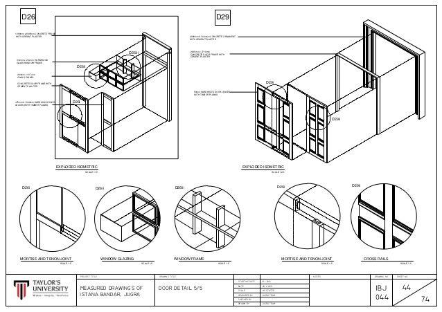 Istana bandar jugrah door details for 180 degree door swing