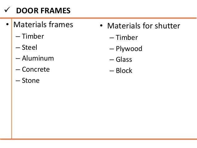 Another Word For Door Frame - Page 8 - Frame Design & Reviews ✓