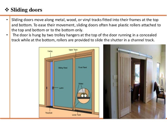 17.  Swing doors ...  sc 1 st  SlideShare & Doors and windows - Building Construction