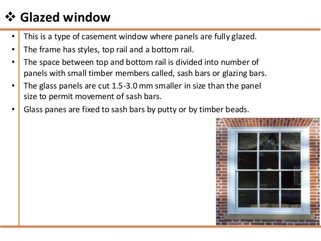 Doors And Windows Building Construction