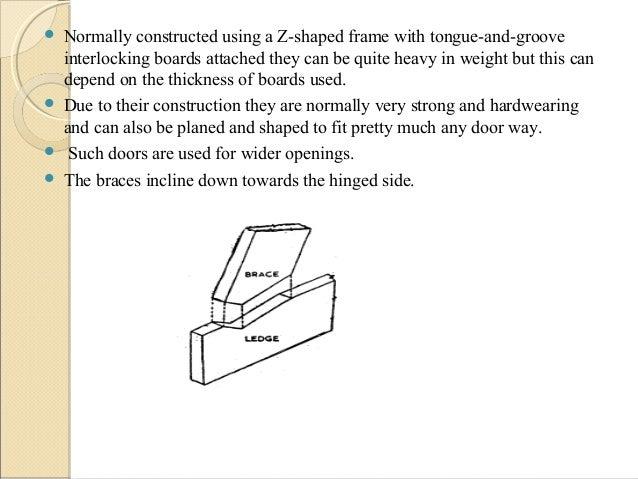 Door Joints Definition Amp Make A Ledged U0026 Braced Door