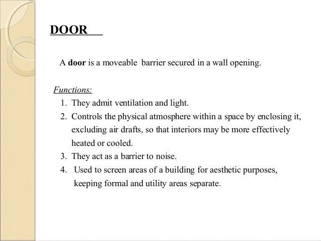 Doors and windows Slide 2