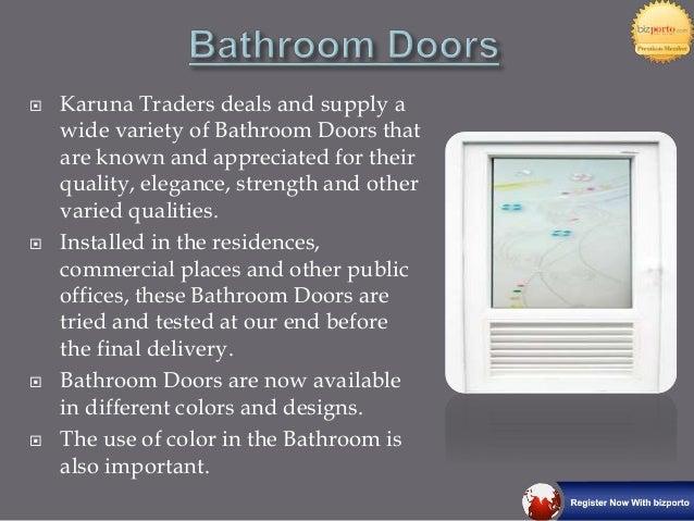 Bathroom Doors Pune doors in pune-karuna traders
