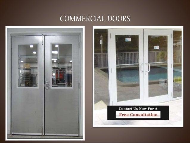 DIFFERENT ... & Doors ppt