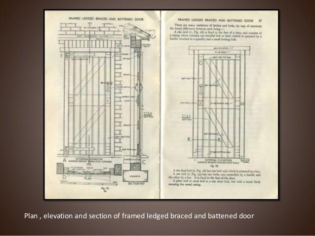 DETAILS OF GLAZED AND FLUSH DOOR ... & Doors ppt