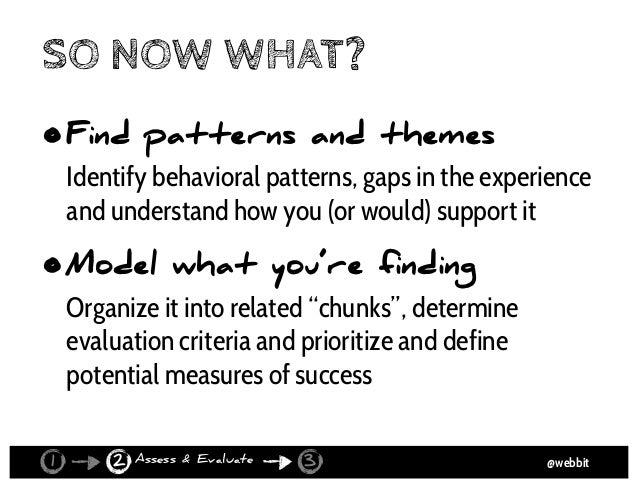@webbit NEXTSTEPBUTTONPURCHASEFUNNELBUTTONS ABSTRACT TO FIND THEMES Assess & Evaluate21 3