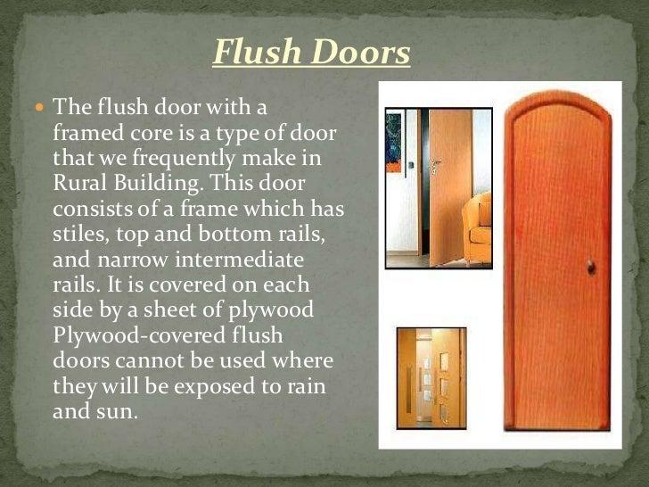 15. Flush Doors ... & Doors \u0026 windows